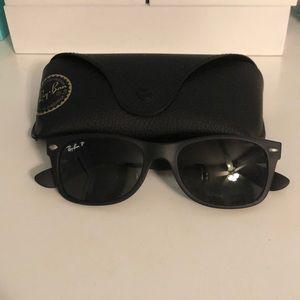 RayBan New Wayfarer Sunglasses Black Matte Small